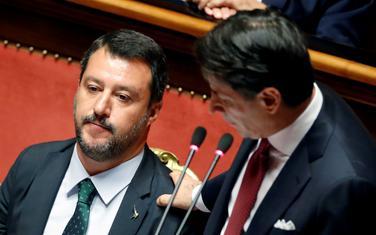 Salvini i Konte