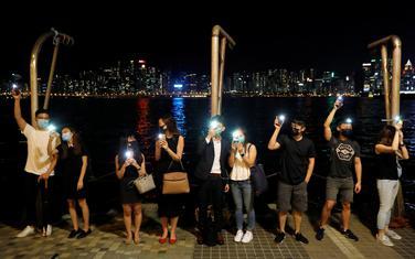 Sa protesta u Hongkongu