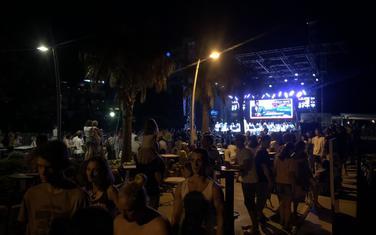 Sa sinoćnje manifestacije