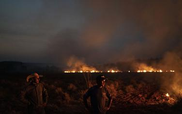 Požar u Nova Santa Heleni u Brazilu