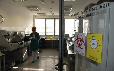 Odjeljenje virusologije Instituta za javno zdravlje (ilustracija)