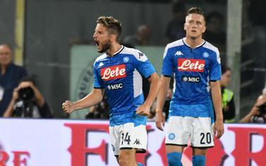 Dris Mertens slavi gol u Firenci