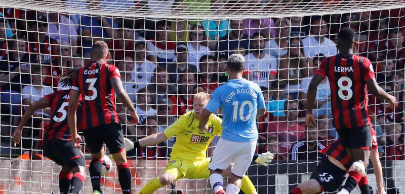 Aguero postiže gol za 3:1