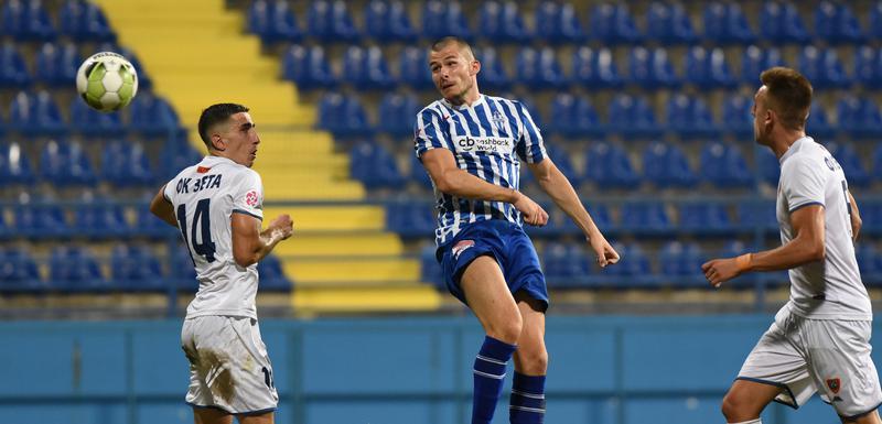 Perović postiže gol za izjednačenje