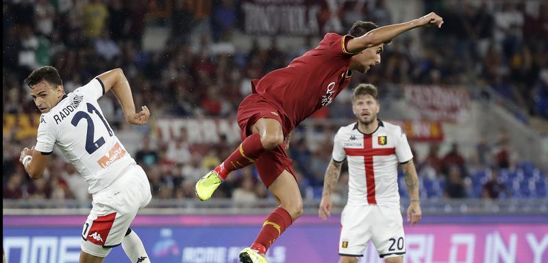 Sa utakmice Roma - Đenova