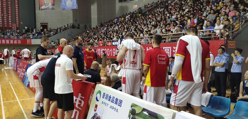 Reprezentativci Crne Gore na prijateljskom meču protiv Poljske