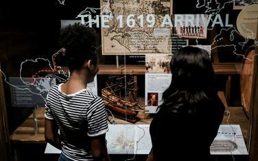 Prvi brod sa robovima stigao je u Virdžiniju u drugom dijelu avgusta 1619. godine