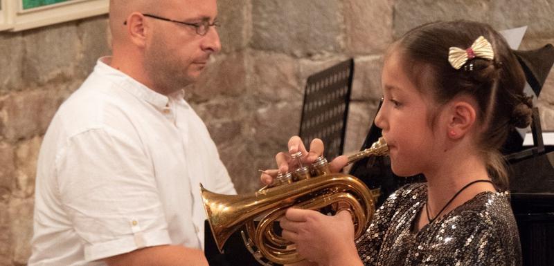 Sa koncerta u crkvi Santa Marija u Budvi