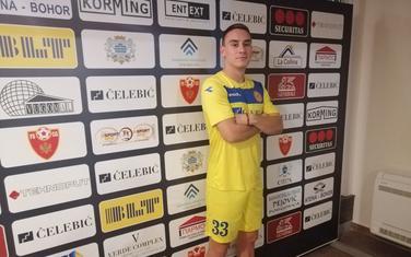 Danilo Pešukić u dresu Podgorice