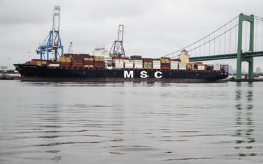 Brod na kojem je pronađen kokain vrijedan više od milijardu dolara