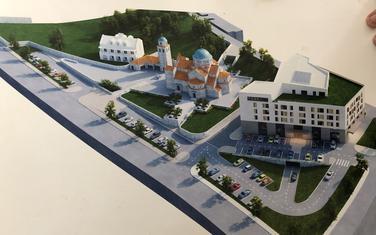 Idejno rješenje budućeg hrama u Budvi
