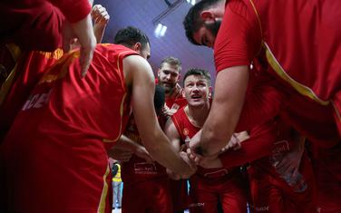 Timska igra najveći adut: Košarkaši Crne Gore