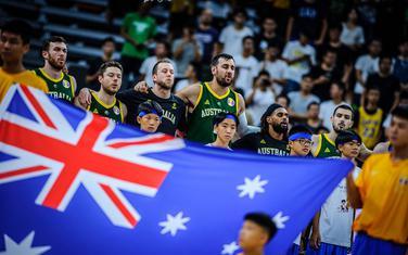 Košarkaši Australije