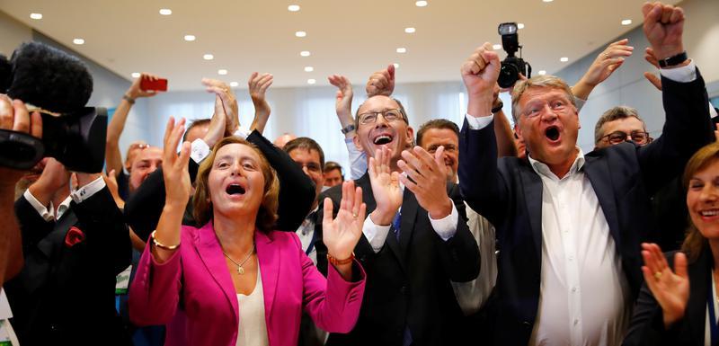 Slavlje lidera Alternative za Njemačku nakon rezultata izbora