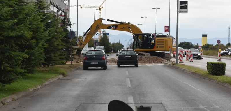 Radovi na Bulevaru Josipa Broza