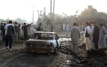Eksploziju izazvao traktor pun eksploziva: Kabul