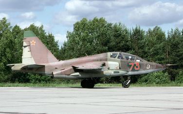 Avion Su-25UB/Ilustracija
