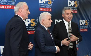 Milošević, Marković i Đukanović