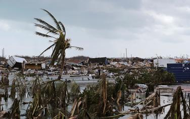 Dio štete na Bahamima