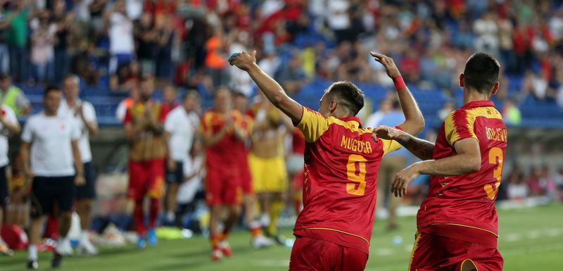 Stefan Mugoša slavi gol