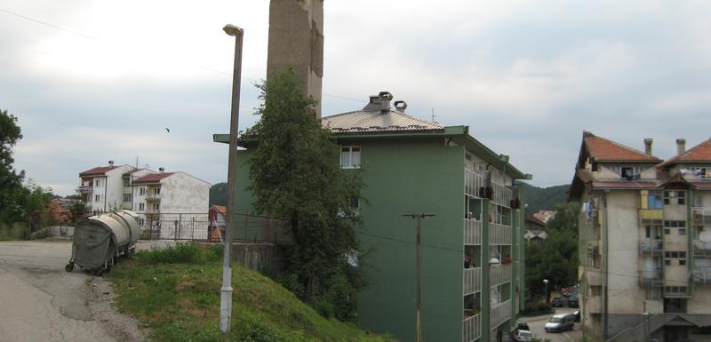 Zgrada u Skerlićevoj ulici, gdje se nalazi kotlarnica