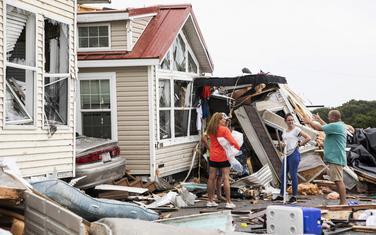 Posljedice uragana u Sjevernoj Karolini