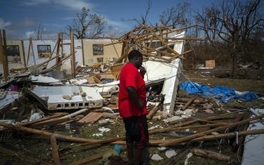 Detalj sa Bahama nakon uragana Dorijan