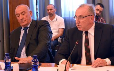 Katnić i Stanković pred poslanicima (arhiva)