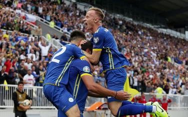 Slavlje fudbalere Kosova