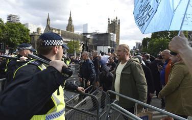 Danas na protestu u centru Londona
