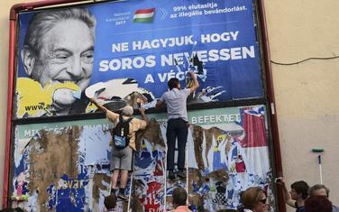 Mađarska vlada potrošila 100 miliona eura za kampanju protiv Soroša