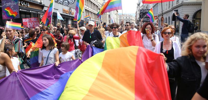 Parada ponoso Sarajevo