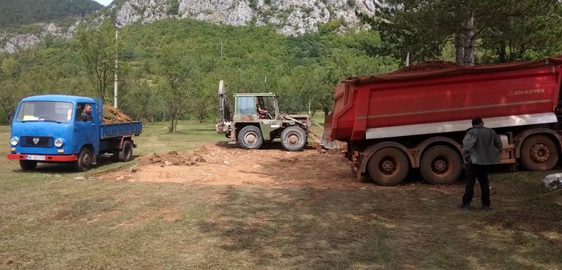 Gradnja sportskih terena u Župi nikšićkoj