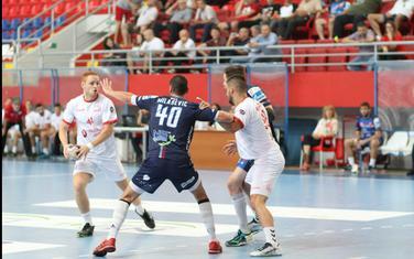 Radovan Stanojević na današnjoj utakmici u Novom Sadu