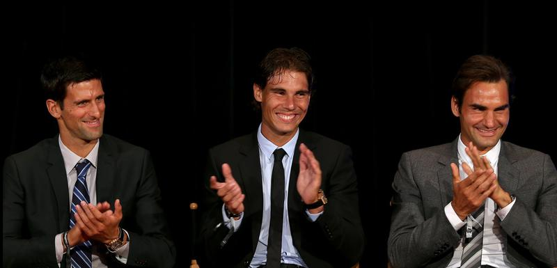 Trio fantastiko: Đoković, Nadal i Federer