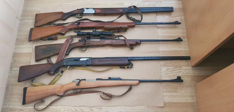 Oružje oduzeto u Baru