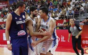 Sa meča Argentina - Srbija