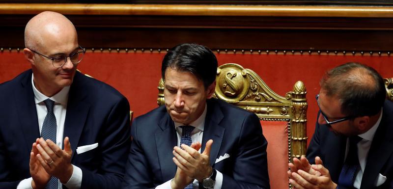 Konte u italijanskom Senatu