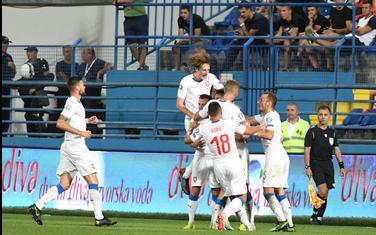 Slavlje čeških fudbalera