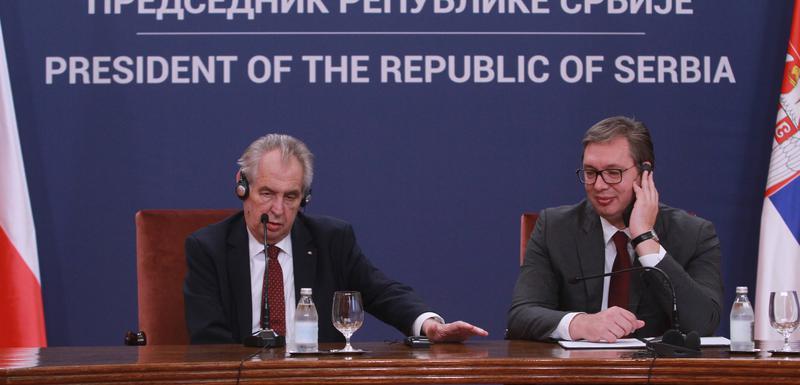 Zeman i Vučić