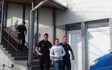 Stjepanović juče ispred bjelopoljskog Višeg suda
