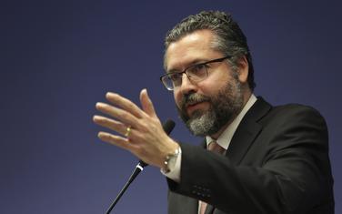 Brazilski šef diplomatije Ernesto Araužo