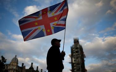 Sa jednog od protesta protivnika Bregzita ispred britanskog parlamenta