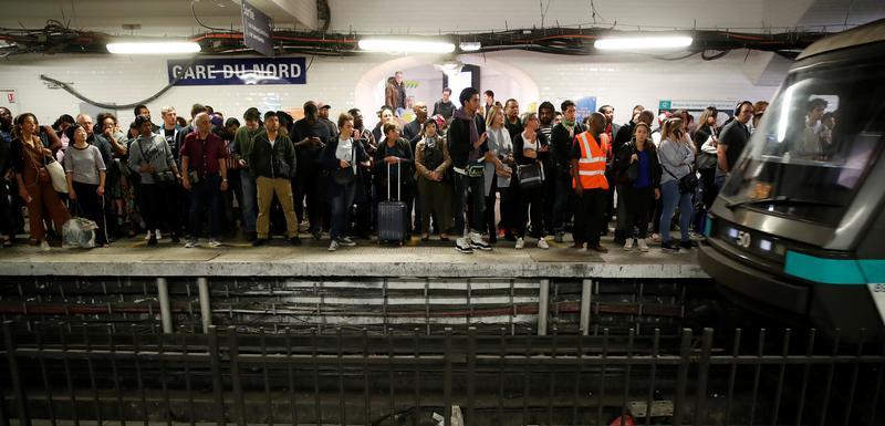 """Sa stanice """"Gare Du Nord"""""""