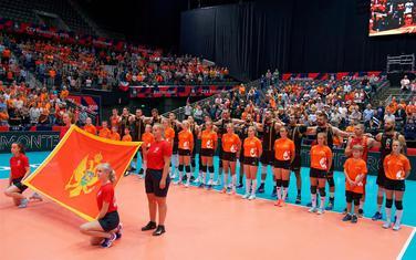 Reprezentativci Crne Gore pred meč sa Holandijom