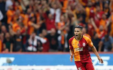 Radamel Falkao slavi prvi gol u dresu Galate