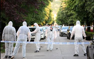 Uviđaj nakon pucnjave na Cetinju