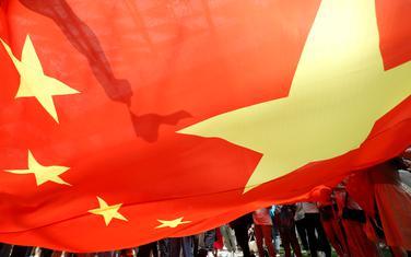 Pristalice Kine u Hongkongu