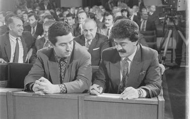 Đukanović i Bulatović u Skupštini