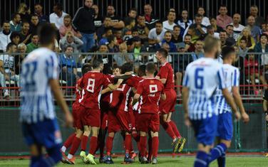 Slavlje fudbalera OFK Titograda